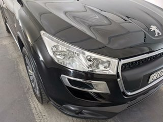 2012 Peugeot 4008 MY12 Active 2WD Black 6 Speed Constant Variable Wagon.