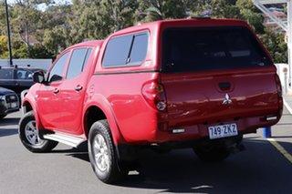 2013 Mitsubishi Triton MN MY13 GLX Double Cab Red 5 Speed Manual Utility.