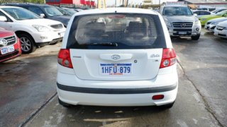 2004 Hyundai Getz TB MY04 GL White 4 Speed Automatic Hatchback