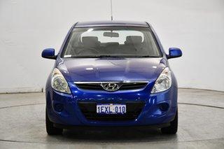 2011 Hyundai i20 PB MY11 Active Blue 5 Speed Manual Hatchback.