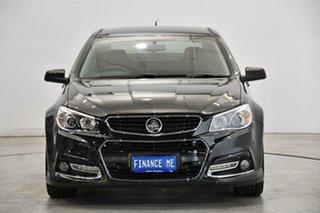 2014 Holden Commodore VF MY14 SS Storm Black 6 Speed Manual Sedan.