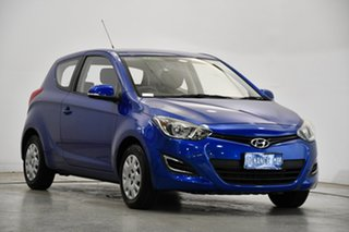 2012 Hyundai i20 PB MY13 Active Pristine Blue 4 Speed Automatic Hatchback.