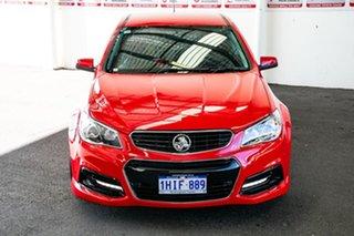 2014 Holden Commodore VF SV6 Red 6 Speed Automatic Sedan.