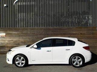 2011 Holden Cruze JH Series II MY12 SRi-V White 6 Speed Sports Automatic Hatchback