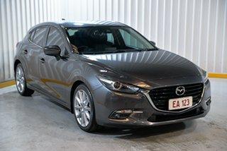 2017 Mazda 3 BN5438 SP25 SKYACTIV-Drive GT Grey 6 Speed Sports Automatic Hatchback
