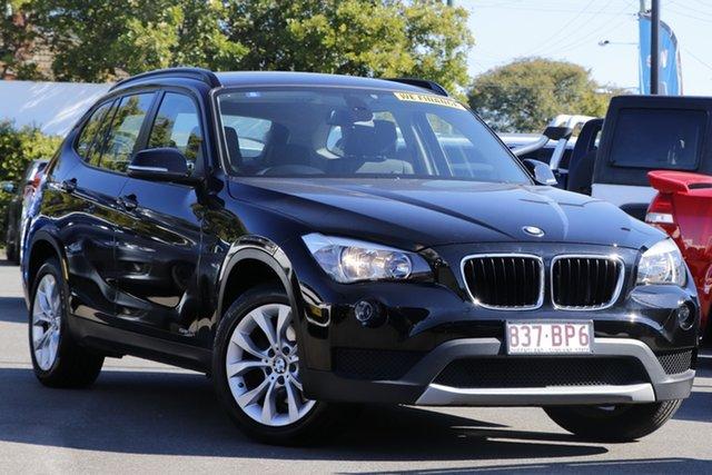 Used BMW X1 E84 LCI sDrive20i Steptronic Mount Gravatt, 2013 BMW X1 E84 LCI sDrive20i Steptronic Black 8 Speed Sports Automatic Wagon