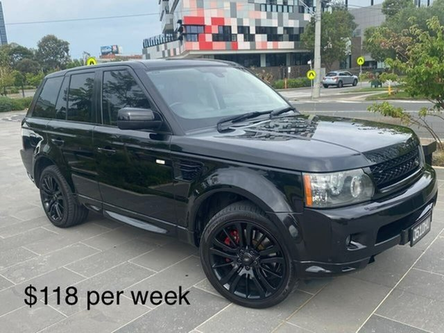 Used Land Rover Range Rover Sport L320 11MY TDV6 South Melbourne, 2010 Land Rover Range Rover Sport L320 11MY TDV6 Black 6 Speed Sports Automatic Wagon