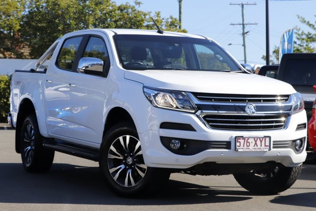 Used Holden Colorado RG MY17 LTZ Pickup Crew Cab Mount Gravatt, 2017 Holden Colorado RG MY17 LTZ Pickup Crew Cab White 6 Speed Sports Automatic Utility
