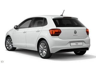 2021 Volkswagen Polo AW MY21 85TSI DSG Style White 7 Speed Sports Automatic Dual Clutch Hatchback