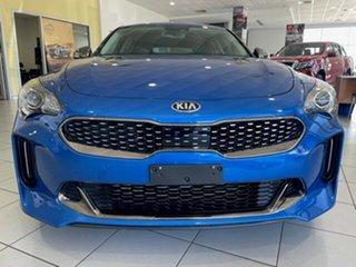 2017 Kia Stinger CK MY18 330Si Fastback Blue 8 Speed Sports Automatic Sedan