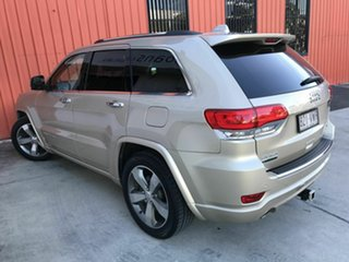 2015 Jeep Grand Cherokee WK MY15 Overland Gold 8 Speed Sports Automatic Wagon.