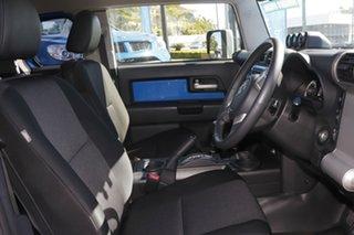 2012 Toyota FJ Cruiser GSJ15R Blue 5 Speed Automatic Wagon.