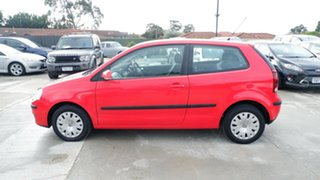 2009 Volkswagen Polo 9N MY2009 Edition Red 6 Speed Sports Automatic Hatchback