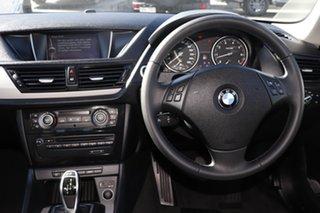 2013 BMW X1 E84 LCI sDrive20i Steptronic Black 8 Speed Sports Automatic Wagon