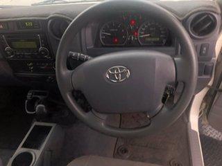 2019 Toyota Landcruiser VDJ76R GXL White 5 Speed Manual Wagon
