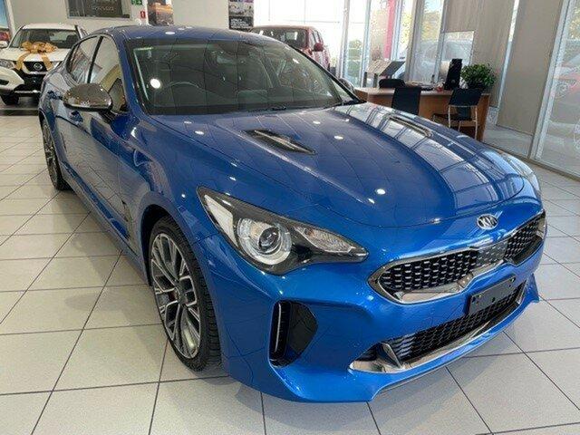 Used Kia Stinger CK MY18 330Si Fastback Mount Gravatt, 2017 Kia Stinger CK MY18 330Si Fastback Blue 8 Speed Sports Automatic Sedan