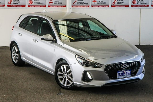 Pre-Owned Hyundai i30 PD Active Myaree, 2018 Hyundai i30 PD Active 6 Speed Auto Sequential Hatchback