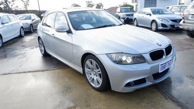 Used BMW 3 Series E90 MY1011 320i Steptronic Lifestyle St James, 2011 BMW 3 Series E90 MY1011 320i Steptronic Lifestyle Silver 6 Speed Sports Automatic Sedan