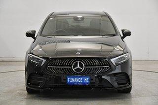 2019 Mercedes-Benz A-Class W177 A180 DCT Black 7 Speed Sports Automatic Dual Clutch Hatchback.