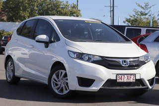 2017 Honda Jazz GF MY17 VTi White 1 Speed Constant Variable Hatchback.