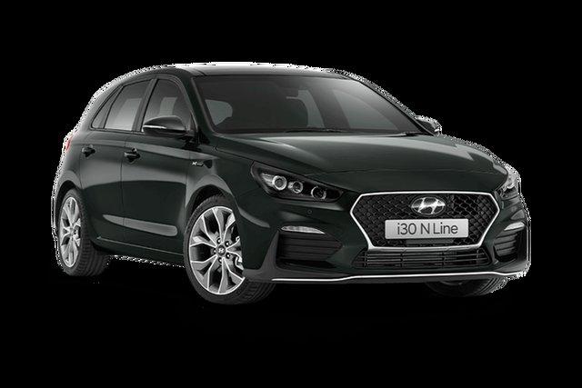 New Hyundai i30 PD.V4 MY21 N Line D-CT Premium Hamilton, 2021 Hyundai i30 PD.V4 MY21 N Line D-CT Premium Amazon Gray 7 Speed Sports Automatic Dual Clutch