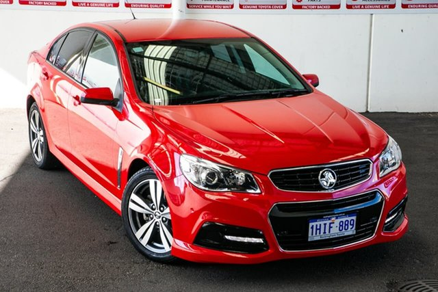 Pre-Owned Holden Commodore VF SV6 Rockingham, 2014 Holden Commodore VF SV6 Red 6 Speed Automatic Sedan