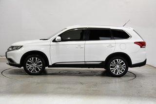 2015 Mitsubishi Outlander ZK MY16 XLS 4WD White 6 Speed Sports Automatic Wagon.