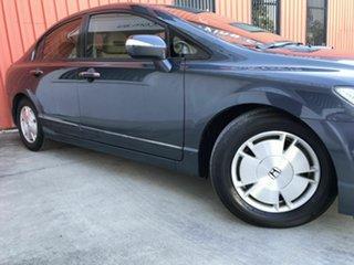 2007 Honda Civic 8th Gen MY07 Hybrid Grey 1 Speed Constant Variable Sedan Hybrid