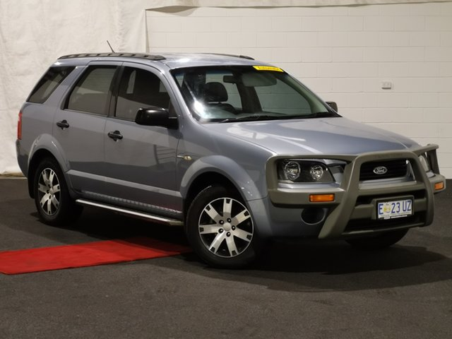 Used Ford Territory SY SR AWD Glenorchy, 2007 Ford Territory SY SR AWD Grey 6 Speed Sports Automatic Wagon