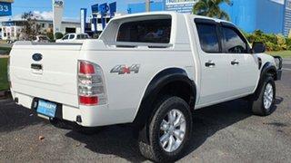 2010 Ford Ranger PK XL Crew Cab White 5 Speed Manual Utility