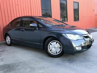 2007 Honda Civic 8th Gen MY07 Hybrid Grey 1 Speed Constant Variable Sedan Hybrid.