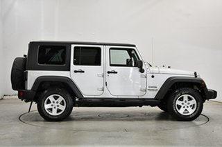2009 Jeep Wrangler JK MY2010 Unlimited Sport Silver 6 Speed Manual Softtop