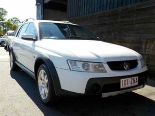 2006 Holden Adventra VZ MY06 CX6 White 5 Speed Automatic Wagon.