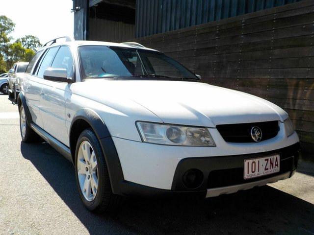 Used Holden Adventra VZ MY06 CX6 Labrador, 2006 Holden Adventra VZ MY06 CX6 White 5 Speed Automatic Wagon