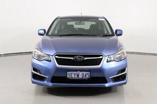 2016 Subaru Impreza MY16 2.0I (AWD) Blue Continuous Variable Hatchback.