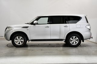 2016 Nissan Patrol Y62 Series 3 TI Silver 7 Speed Sports Automatic Wagon.