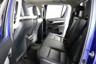 2016 Toyota Hilux GUN126R SR5 (4x4) Blue 6 Speed Manual Dual Cab Utility