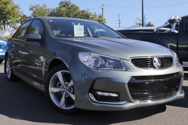 Used Holden Commodore VF II MY16 SV6 Mount Gravatt, 2016 Holden Commodore VF II MY16 SV6 Grey 6 Speed Manual Sedan