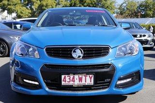 2015 Holden Commodore VF MY15 SV6 Blue 6 Speed Sports Automatic Sedan.