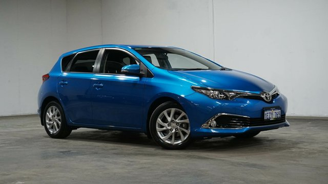 Used Toyota Corolla ZRE182R Ascent Sport S-CVT Welshpool, 2016 Toyota Corolla ZRE182R Ascent Sport S-CVT Blue 7 Speed Constant Variable Hatchback