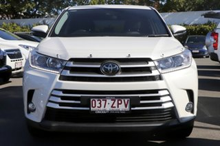 2018 Toyota Kluger GSU55R GX AWD White Pearl 8 Speed Sports Automatic Wagon.