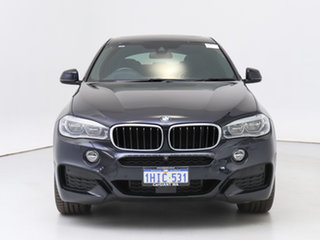 2016 BMW X6 F16 xDrive30d Black 8 Speed Automatic Coupe.