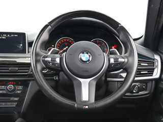 2016 BMW X6 F16 xDrive30d Black 8 Speed Automatic Coupe