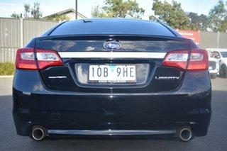 2015 Subaru Liberty B6 MY15 3.6R CVT AWD Black 6 Speed Constant Variable Sedan