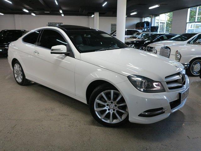 Used Mercedes-Benz C-Class C204 MY13 C180 BlueEFFICIENCY 7G-Tronic + Albion, 2013 Mercedes-Benz C-Class C204 MY13 C180 BlueEFFICIENCY 7G-Tronic + White 7 Speed Sports Automatic