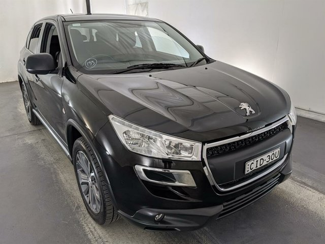 Used Peugeot 4008 MY12 Active 2WD Maryville, 2012 Peugeot 4008 MY12 Active 2WD Black 6 Speed Constant Variable Wagon