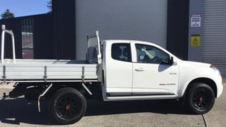 2013 Holden Colorado RG MY13 LX Space Cab White 5 Speed Manual Cab Chassis