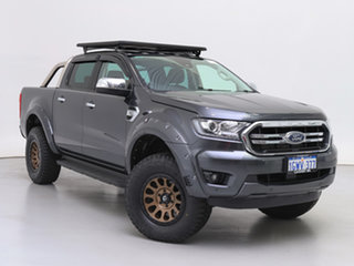 2019 Ford Ranger PX MkIII MY19.75 XLT 3.2 (4x4) Grey 6 Speed Automatic Double Cab Pick Up.