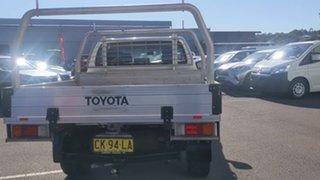 2016 Toyota Hilux GUN126R SR Double Cab White 6 Speed Sports Automatic Utility.