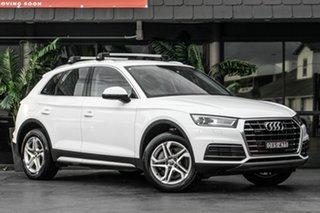 2017 Audi Q5 FY MY18 TDI S Tronic Quattro Ultra design White 7 Speed Sports Automatic Dual Clutch.